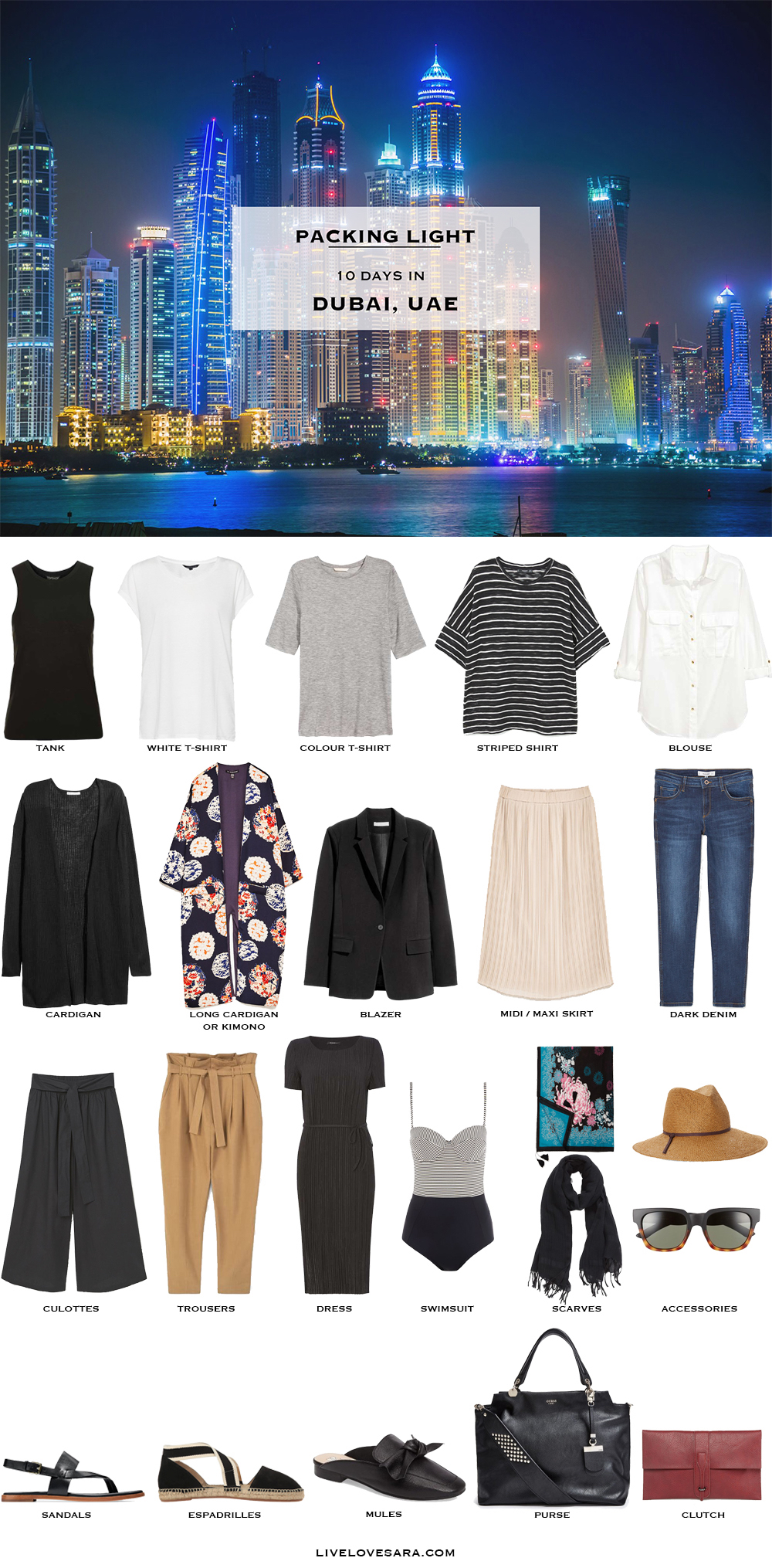 What To Pack For Dubai In Spring Packing Light
