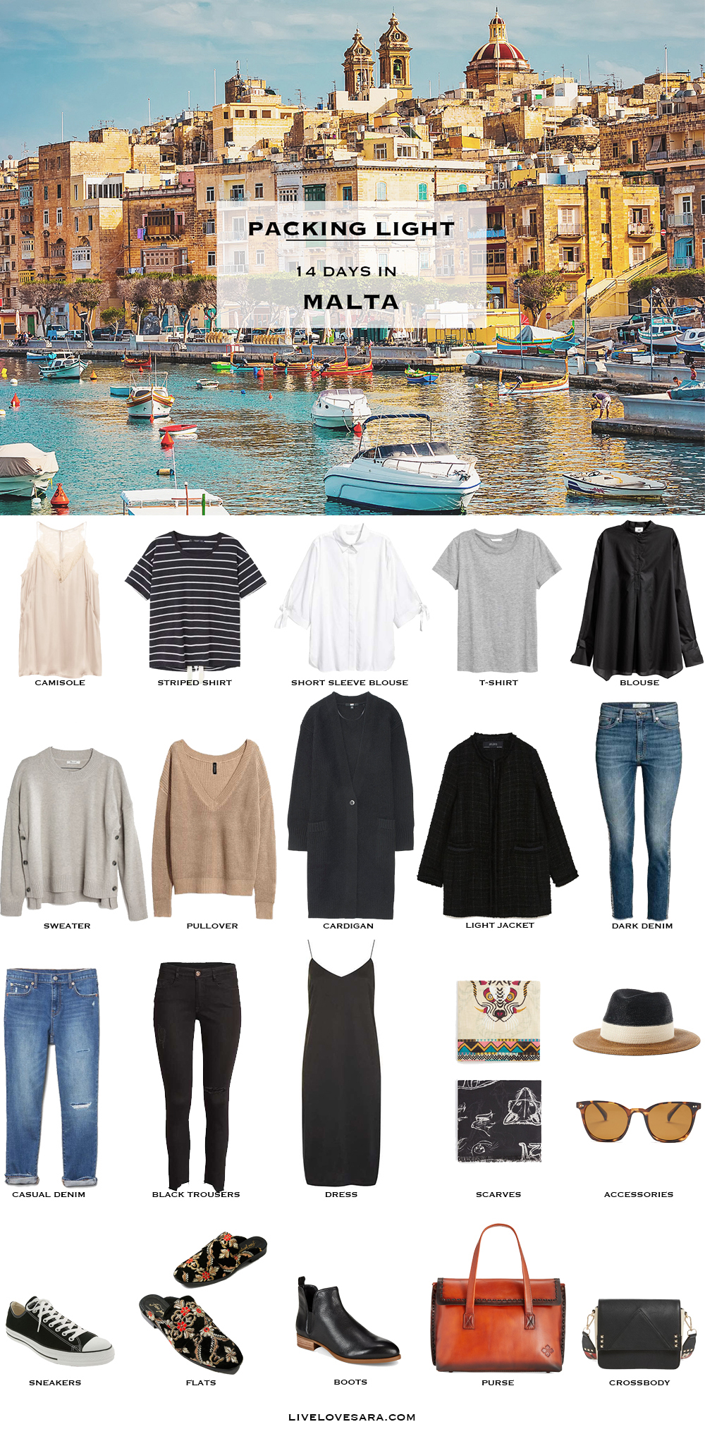 What to Pack for Malta in April Packing Light