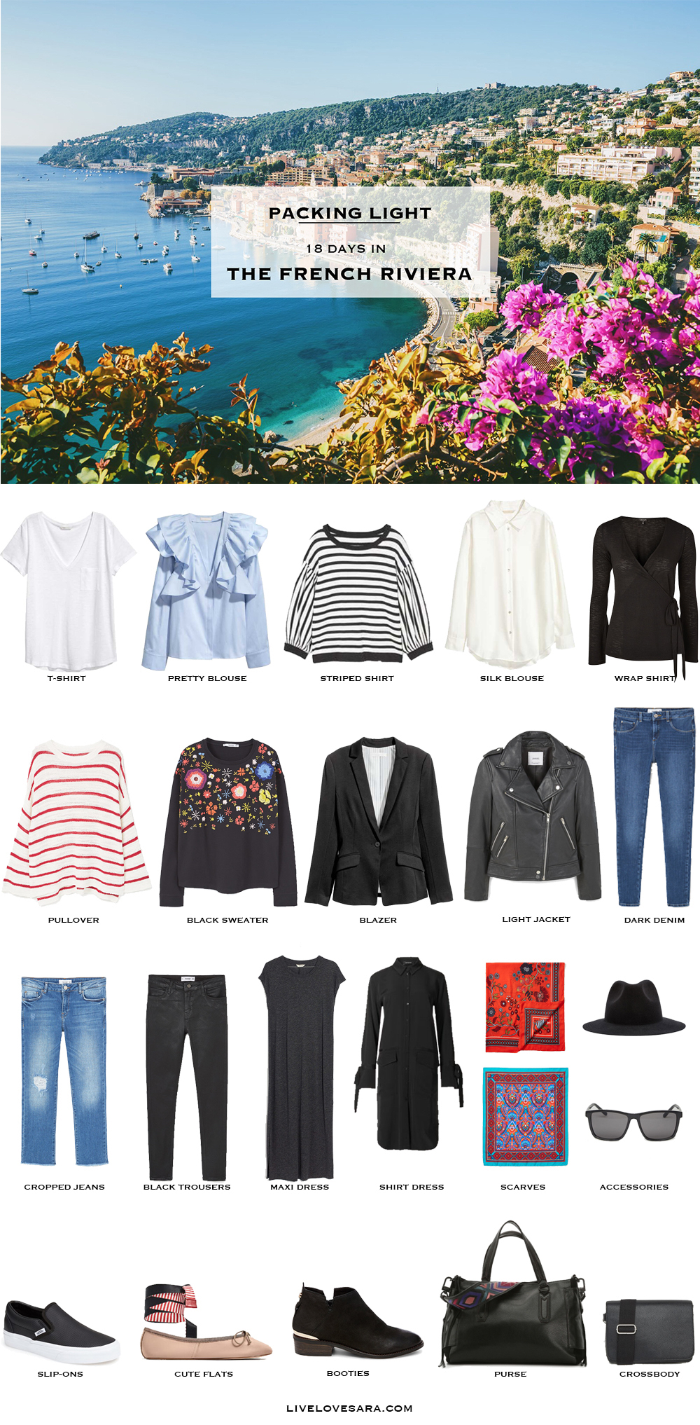 What To Pack For The French Riviera In Spring Livelovesara