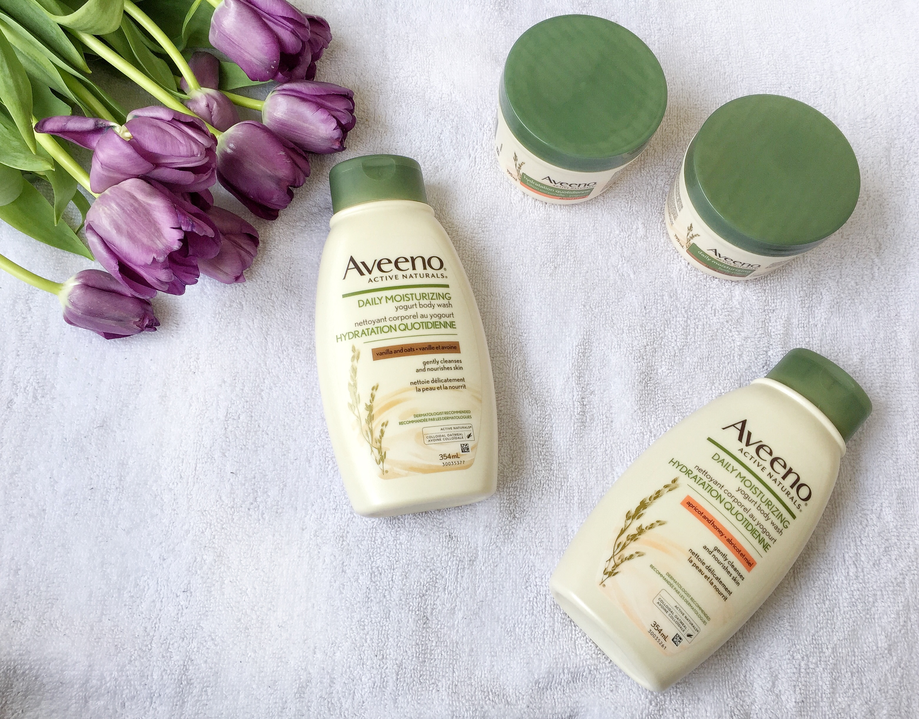 Aveeno Daily Moisturizing Body Yogurts & Washes - livelovesara