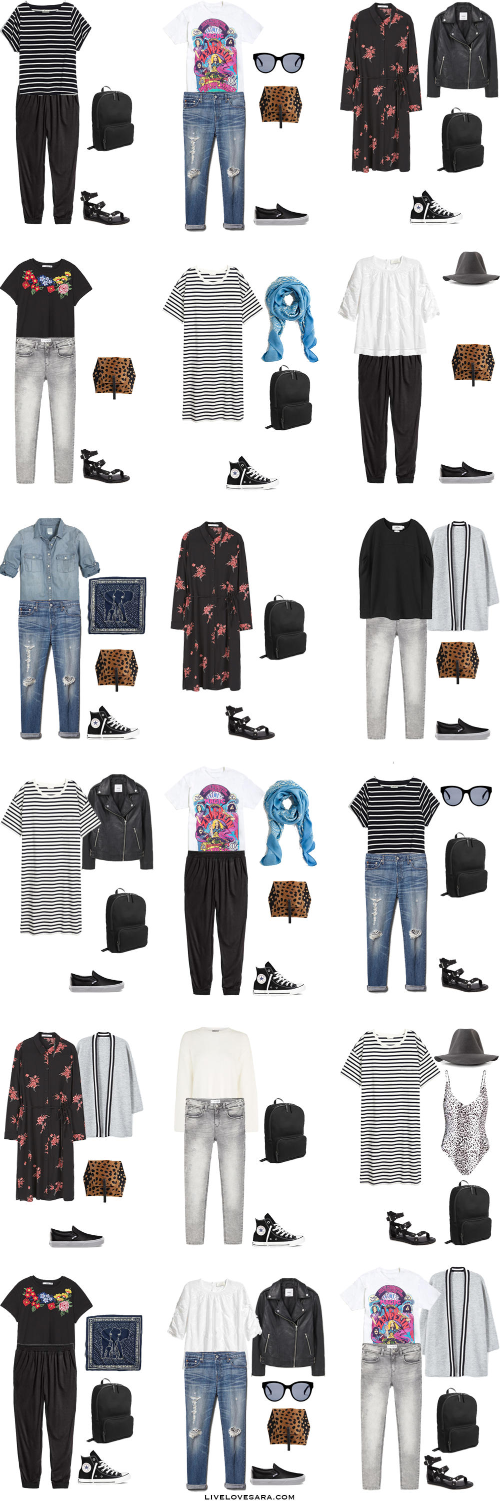 What To Pack For Italy And Paris Modern Grunge Style