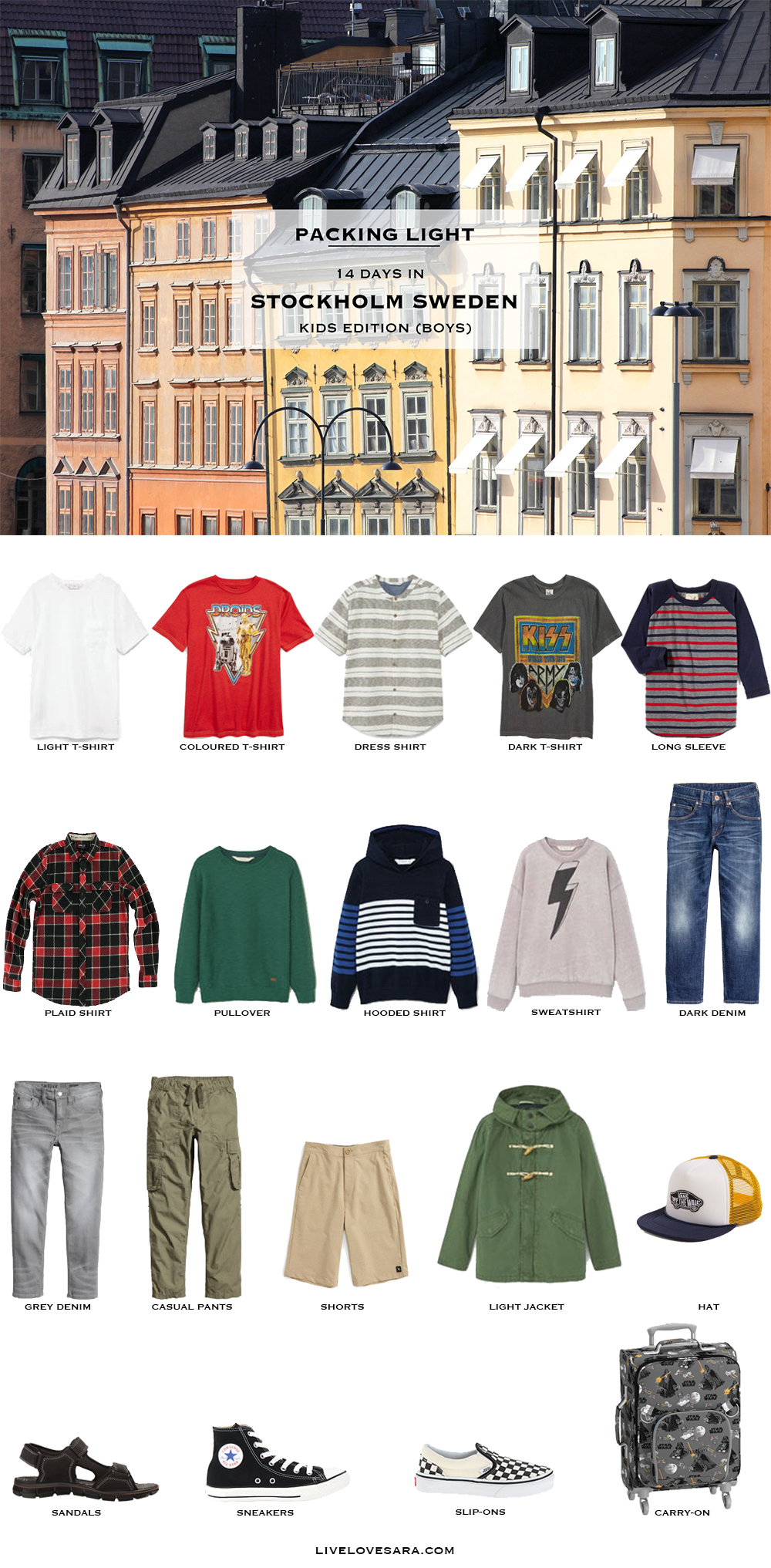 What To Pack And Wear In Sweden Kids Edition Boys