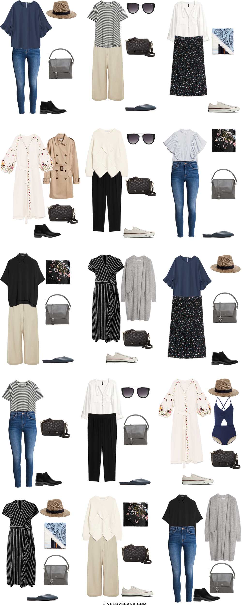 What To Wear For One Month In Europe Outfit Options