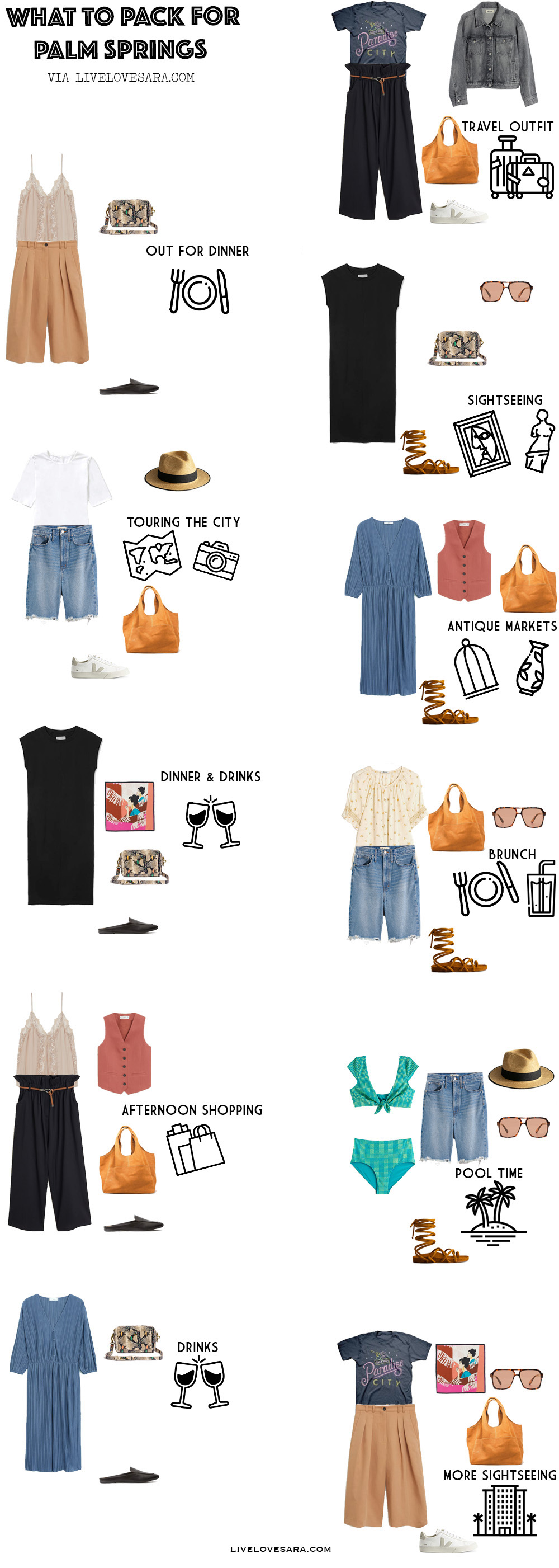 What To Pack For Palm Springs In Spring Livelovesara